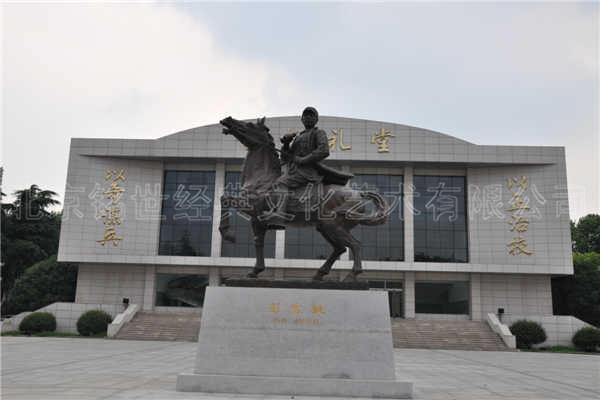 《彭雪枫将军》雕像